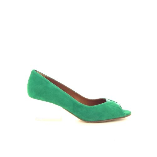 Emma go solden sandaal felgroen 184365
