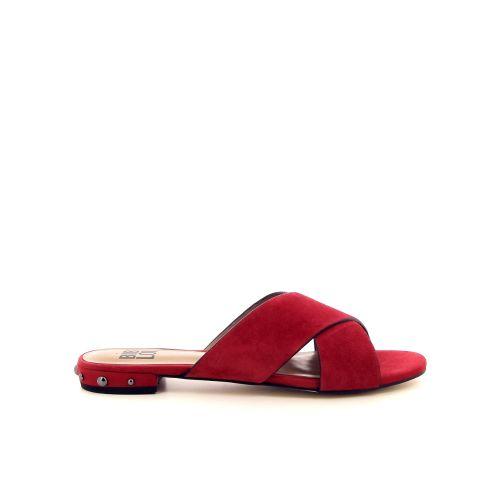 Bibi lou damesschoenen muiltje rood 183150
