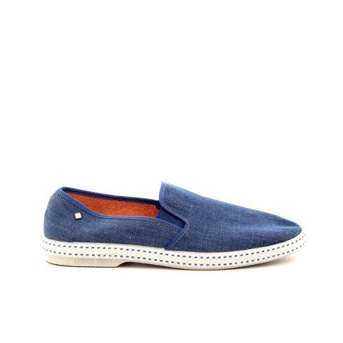 Rivieras herenschoenen sneaker jeansblauw 183606