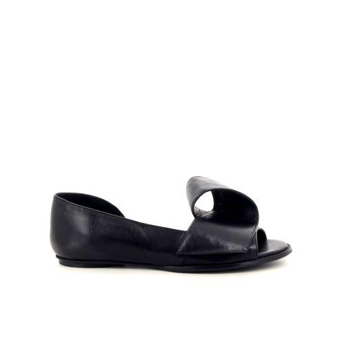Poesie veneziane damesschoenen sandaal zwart 194995