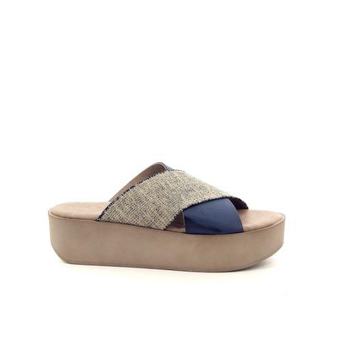 Rapisardi damesschoenen muiltje jeansblauw 173727