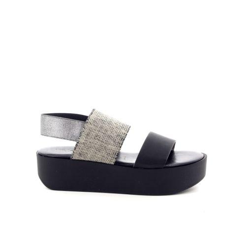 Rapisardi damesschoenen sandaal zwart 173724