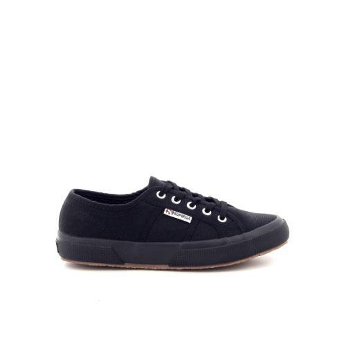Superga damesschoenen sneaker zwart 19658