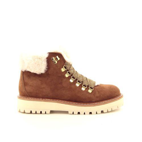 Fantasy damesschoenen boots cognac 188741