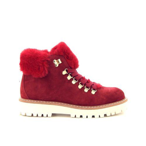Fantasy damesschoenen boots rood 188741