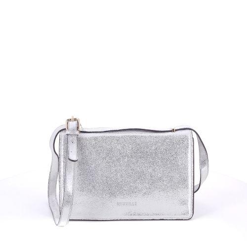 Neuville tassen handtas zilver 194952
