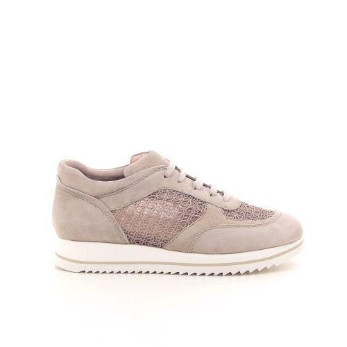 Alba teci  damesschoenen sneaker poederrose 195560