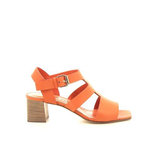 Alba teci  damesschoenen sandaal cognac 195558