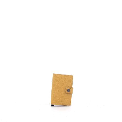 Secrid accessoires portefeuille geel 180516