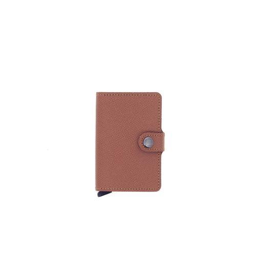 Secrid accessoires portefeuille cognac 180531