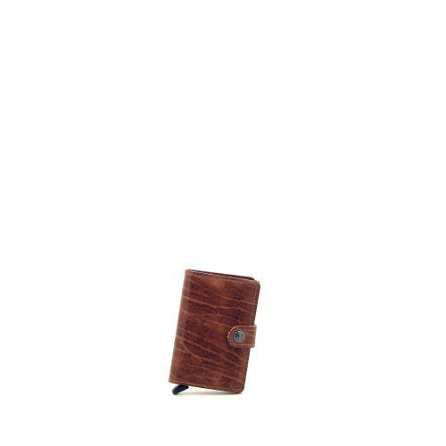 Secrid accessoires portefeuille cognac 180522