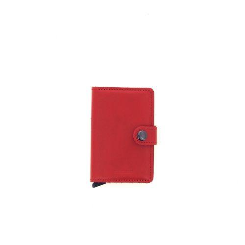 Secrid accessoires portefeuille rood 180522