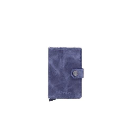 Secrid accessoires portefeuille blauw 180522