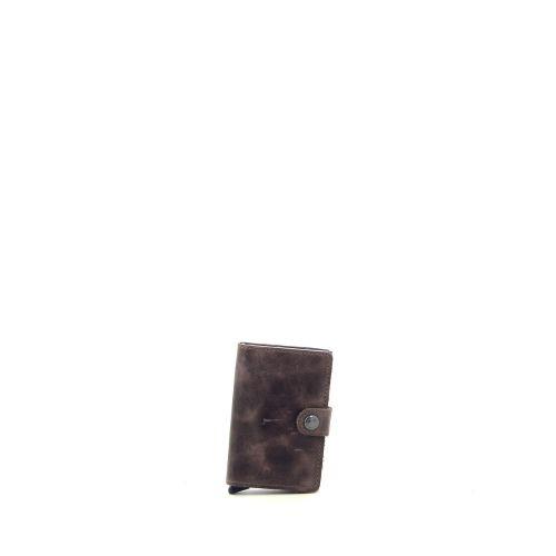 Secrid accessoires portefeuille bruin 180522
