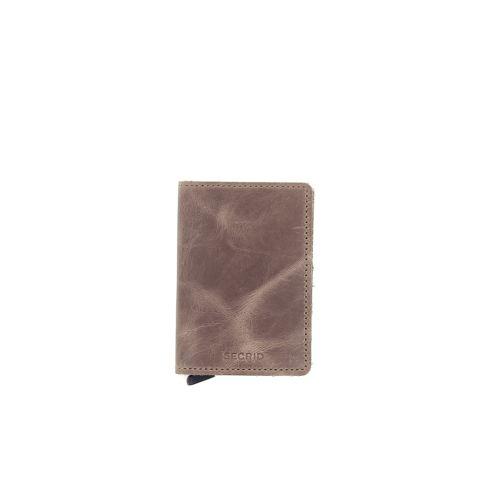 Secrid accessoires portefeuille bruin 180533