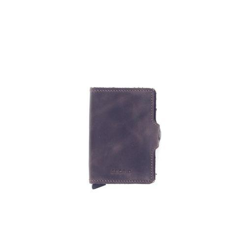Secrid accessoires portefeuille bruin 180541
