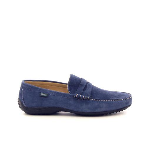 Paraboot herenschoenen mocassin jeansblauw 193252