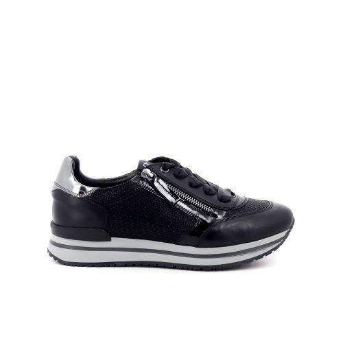 Dl sport  damesschoenen veterschoen zwart 199472