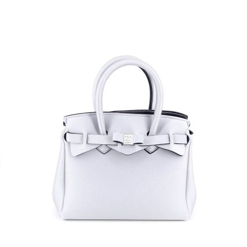 Save my bag  handtas zilver 193077