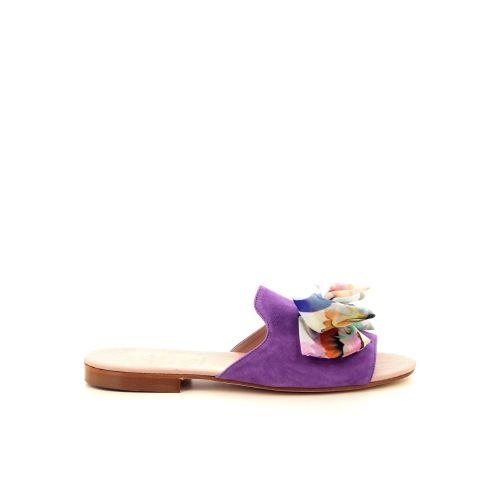 Paoli firenze damesschoenen muiltje lila 193288