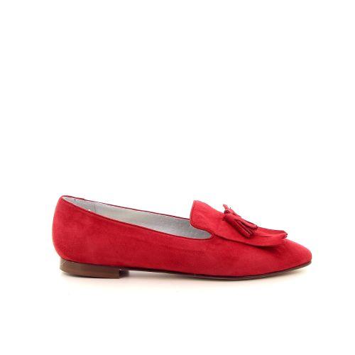 Paoli firenze damesschoenen mocassin rood 183044