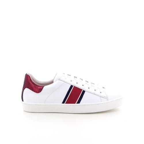 Singer damesschoenen sneaker wit 184068