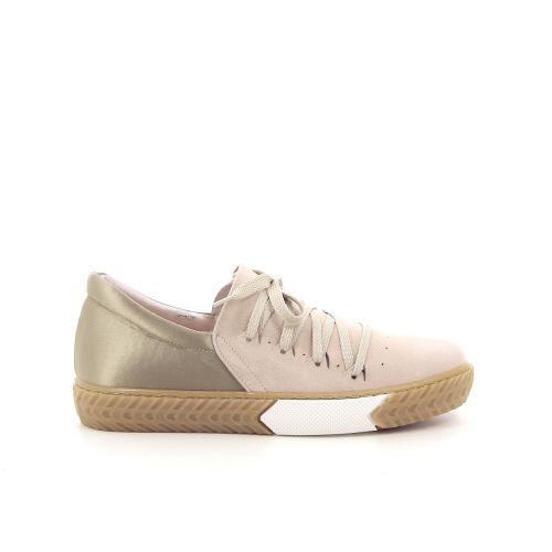 Singer damesschoenen sneaker beige 184071