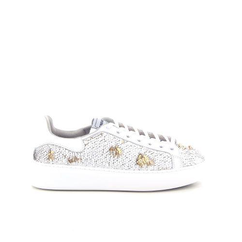Trend damesschoenen sneaker wit 184392