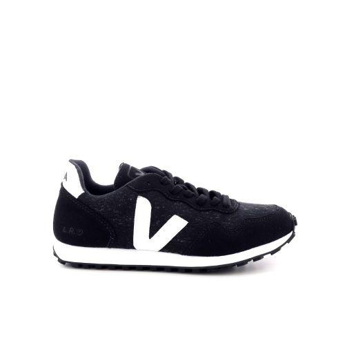Veja damesschoenen sneaker zwart 198265