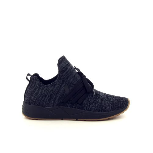 Arkk  damesschoenen sneaker zwart 187319