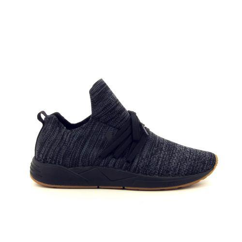 Arkk  herenschoenen sneaker zwart 187328
