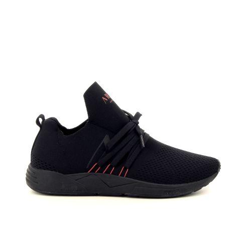 Arkk  herenschoenen sneaker zwart 201698