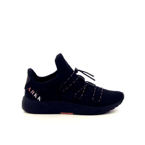 Arkk  damesschoenen sneaker zwart 187317