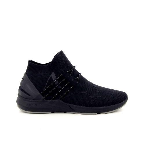 Arkk  damesschoenen sneaker zwart 186496