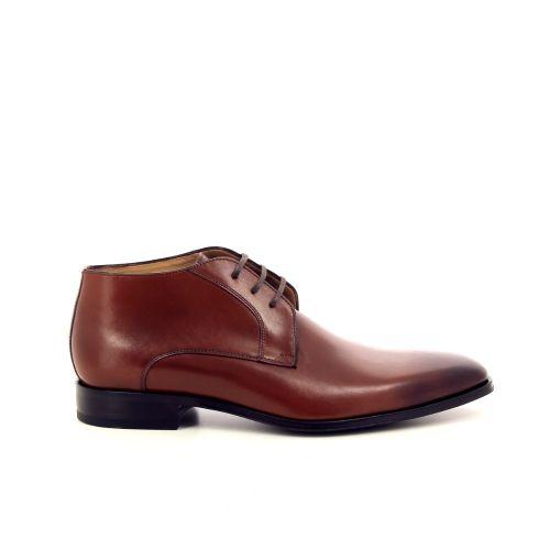Van bommel herenschoenen boots cognac 191487
