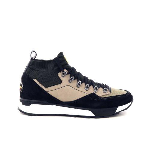Barracuda herenschoenen sneaker zwart 199354