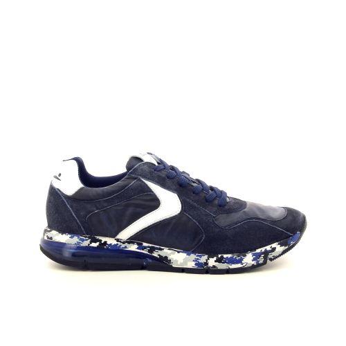 Voile blanche herenschoenen sneaker blauw 194030