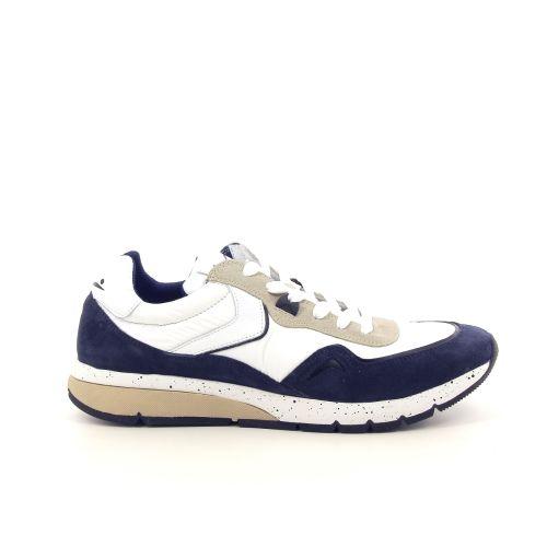 Voile blanche herenschoenen sneaker blauw 195594
