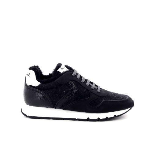 Voile blanche  sneaker zwart 199173