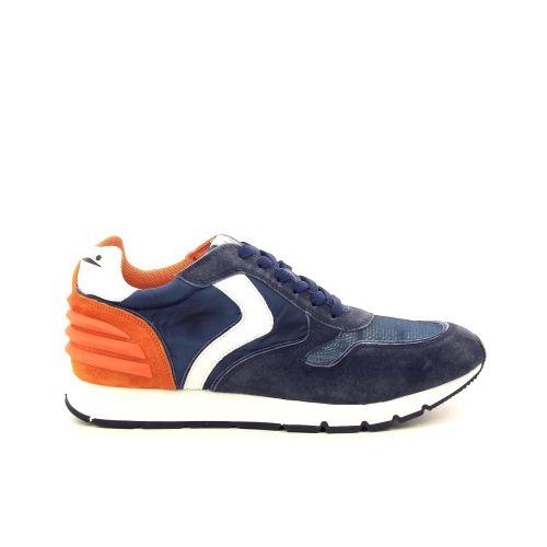Voile blanche herenschoenen sneaker blauw 194028