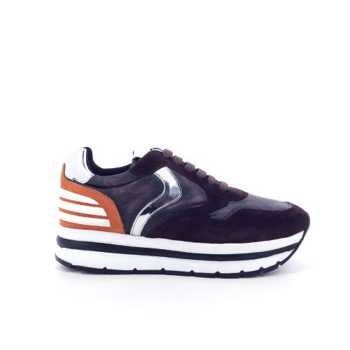 Voile blanche damesschoenen sneaker bordo 199181