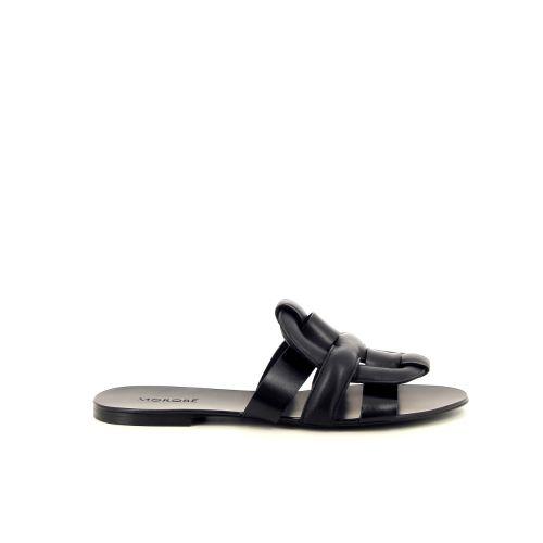 Morobe damesschoenen sleffer zwart 192704