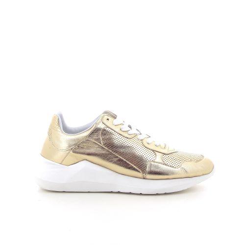 Matt damesschoenen sneaker goud 193572