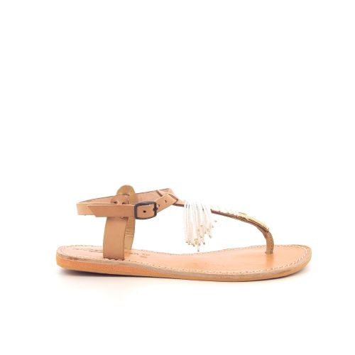 Laidbacklondon damesschoenen sandaal naturel 195169