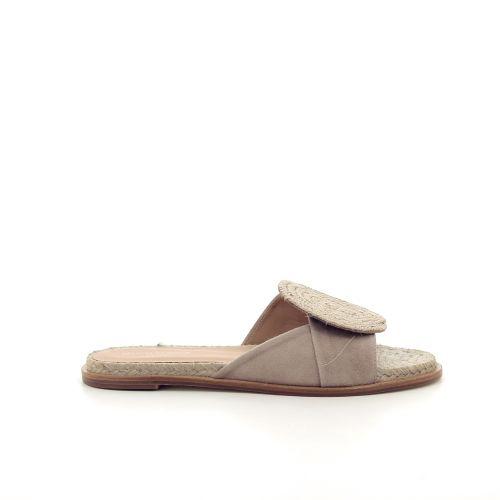 Paloma barcelo damesschoenen sleffer beige 195209