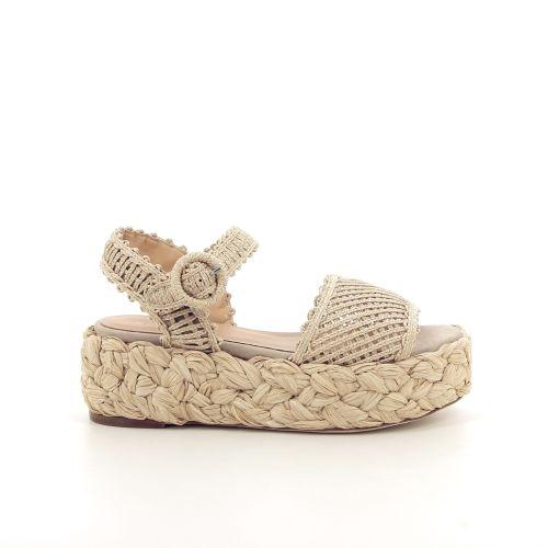 Paloma barcelo damesschoenen sandaal beige 195208