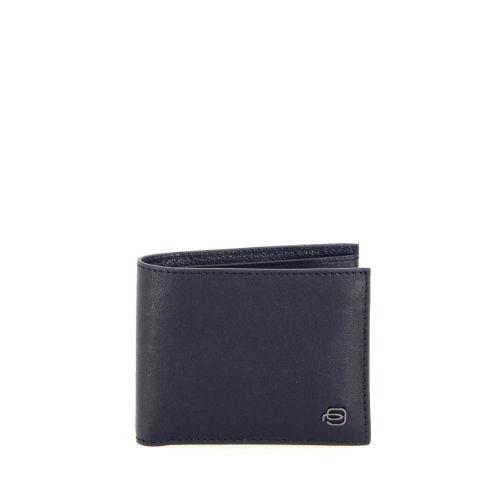Piquadro accessoires portefeuille zwart 195672