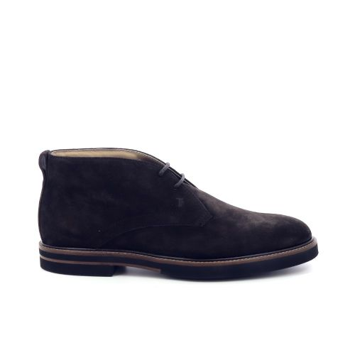 Tod's herenschoenen boots d.bruin 199601