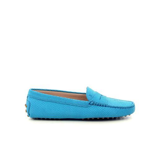 Tod's damesschoenen mocassin blauw 191685