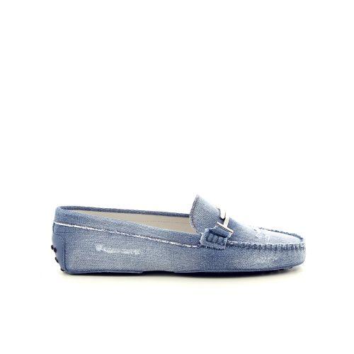 Tod's damesschoenen mocassin blauw 191677